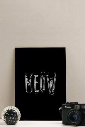 Quadro-meow-20x29
