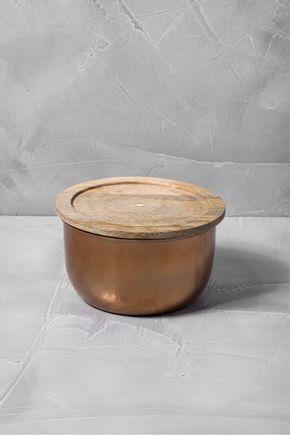 Pote-metal-cobre