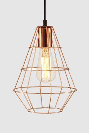 Luminaria-pendente-industrial-cobre