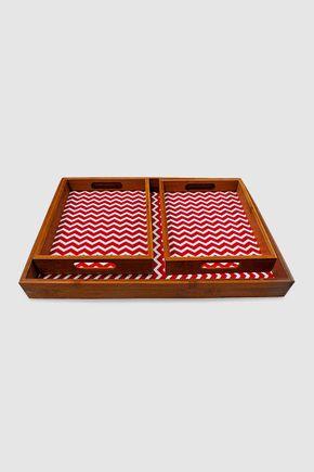 Bandeja-bambu-chevron-vermelho-set-de-3