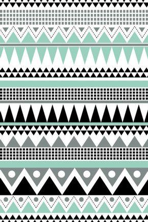Tecido-adesivo-de-parede-asteca-verde