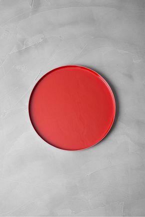Bandeja-esmaltada-vermelha