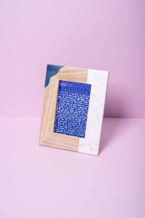 Porta-retrato-marmore-madeira-vertical
