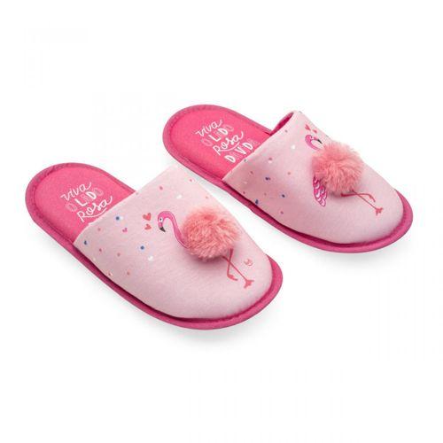 Pantufa-com-pompom-flamingos-m