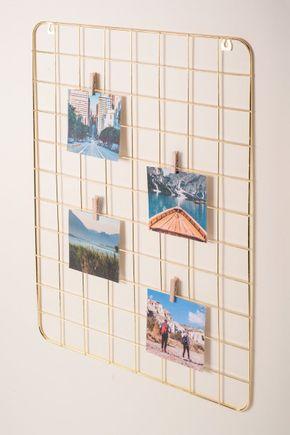 Painel-de-fotos-e-mensagens-grid-dourado