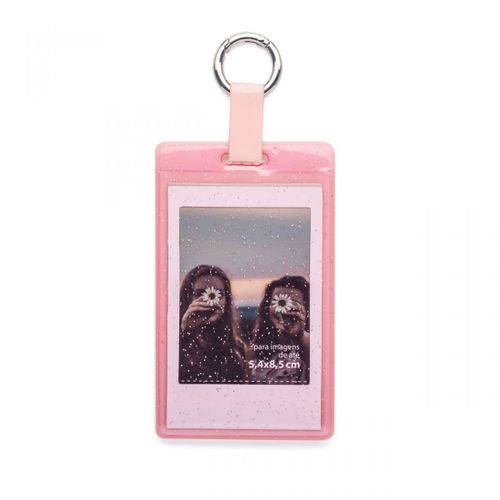 Chaveiro-porta-retrato-rosa