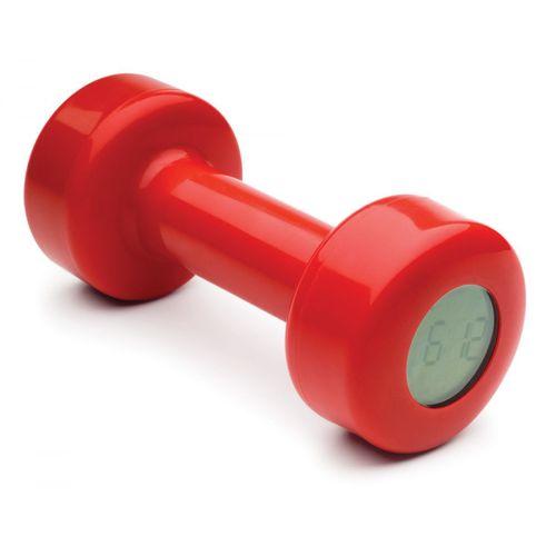 Despertador-haltere-vermelho