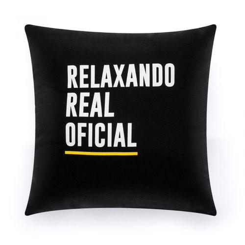 Almofada frases relaxando