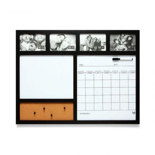 Painel-porta-retrato-calendario-preto