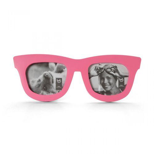 Porta-retrato-duplo-oculos-rosa