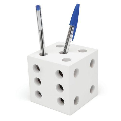 Porta-caneta-dado