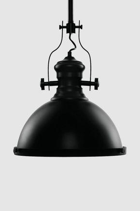Luminaria-pendente-industrial-preta