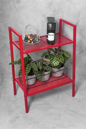 Mini-estante-metal-vermelha