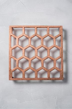 Apoio-de-panela-colmeia-cobre
