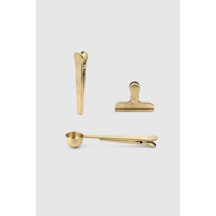 fb3e50b2f Kit acessorios de cozinha dourado - MinD