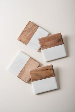 Conjunto-porta-copos-marmore-e-madeira