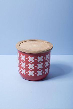 Pote-metal-madeira-vermelho