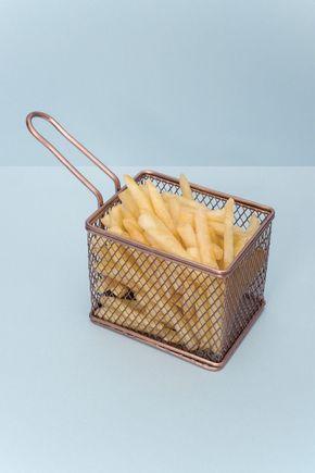 Porta-batata-frita-cobre