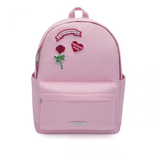 Mochila-patches-rosa-real-oficial