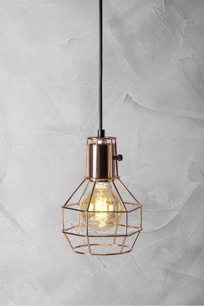 Luminaria-cobre
