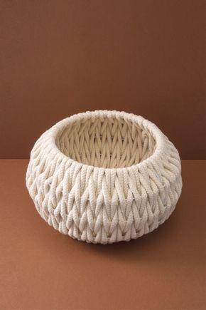 Cesto-corda-areia