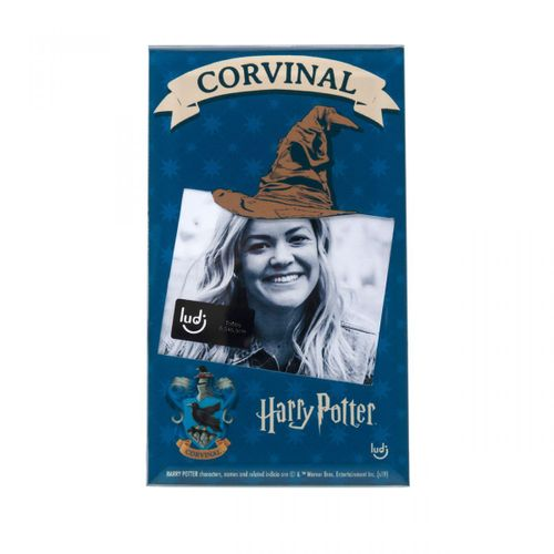 Porta-retrato-cartao-harry-potter-corvinal