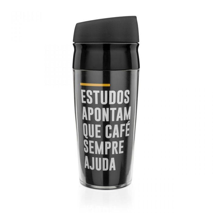 Copo Para Viagem Frases Cafe Ajuda Ludi