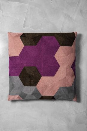 Capa-de-almofada-hexagonos