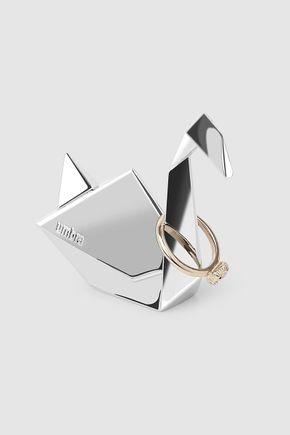 Porta-anel-origami-cisne