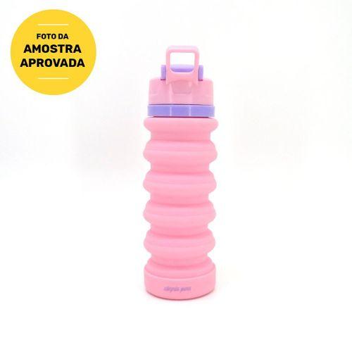 Garrafa-retratil-rosa-alegria-pura