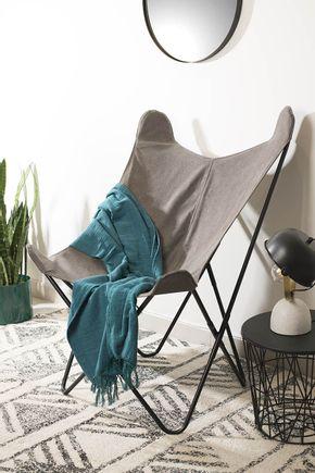 Cadeira-butterfly-cinza