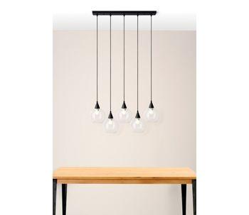 Luminaria-cinco-globos
