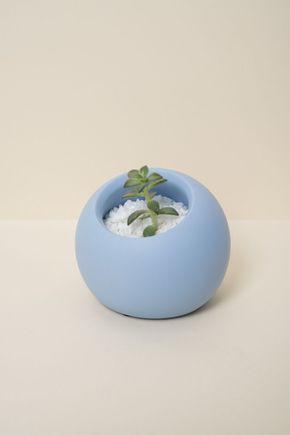 Vaso-oca-cimento-azul