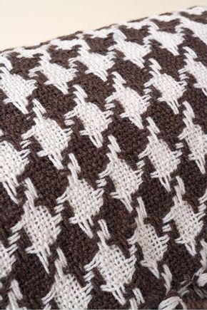Manta-marrom-pied-de-poule