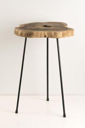 Mesa-tronco-de-madeira