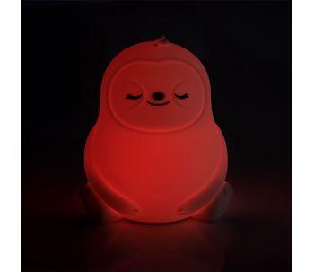 Luminaria-de-silicone-preguica