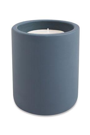 Vela-de-cimento-azul-m