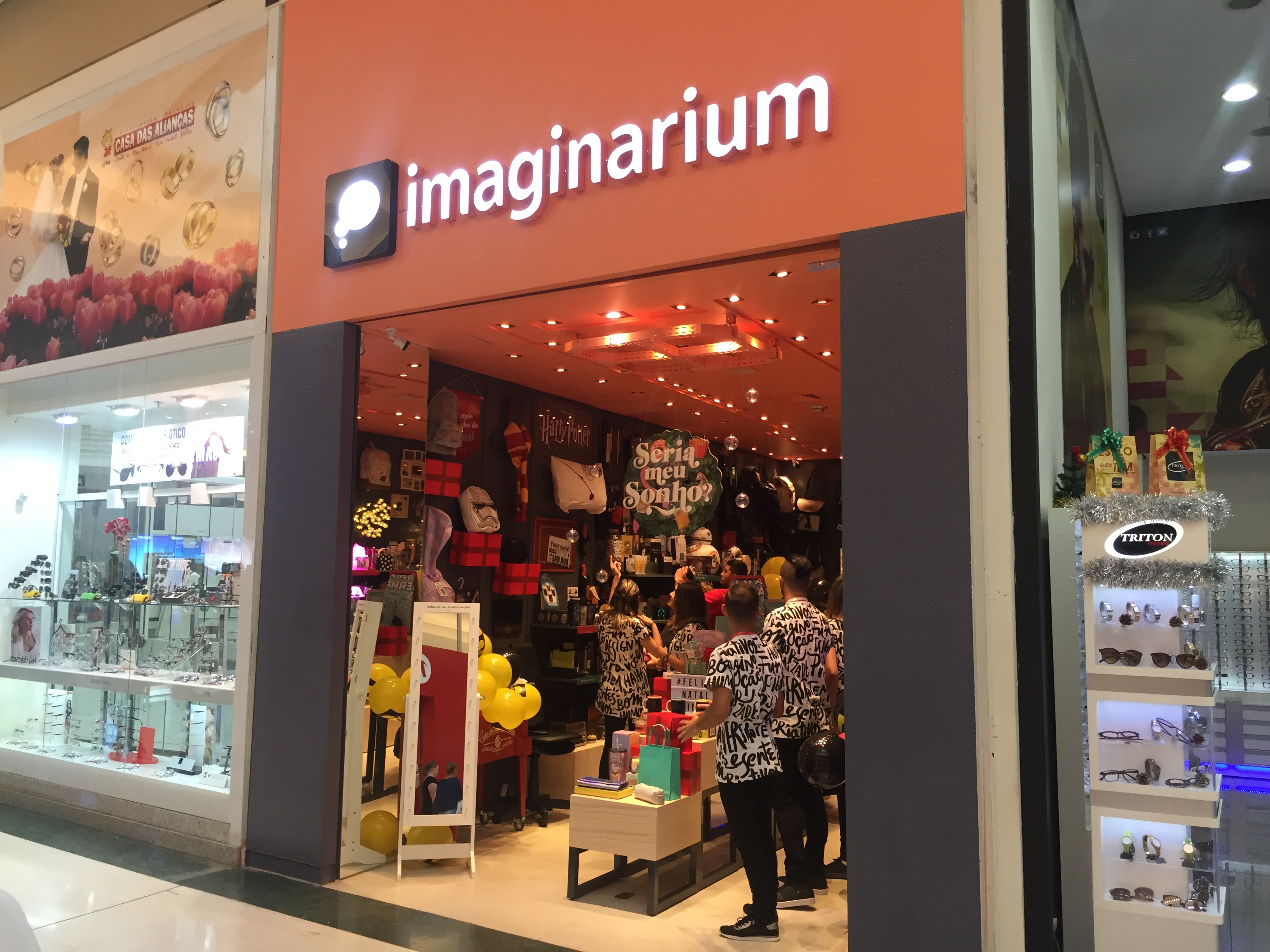 modelo loja de presentes imaginarium fit