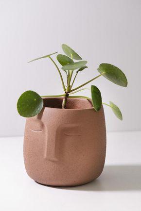 Vaso-cachepot--rosto-terracota