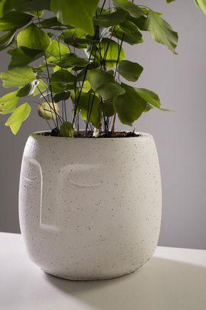 Vaso-cachepot-rosto-branco