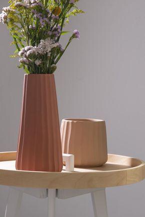 Vaso-ceramica-linhas-terracota