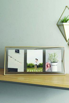 Porta-retrato-prisma-multi-dourado
