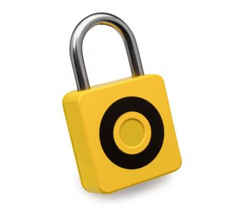 Cadeado-smart-digital-amarelo