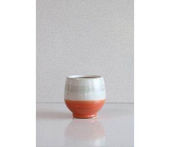 Vaso-cachepot-laranja-e-cinza