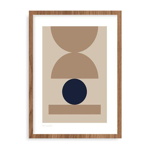 Quadro Equilibrio - 44 x 61,4 cm - Mel