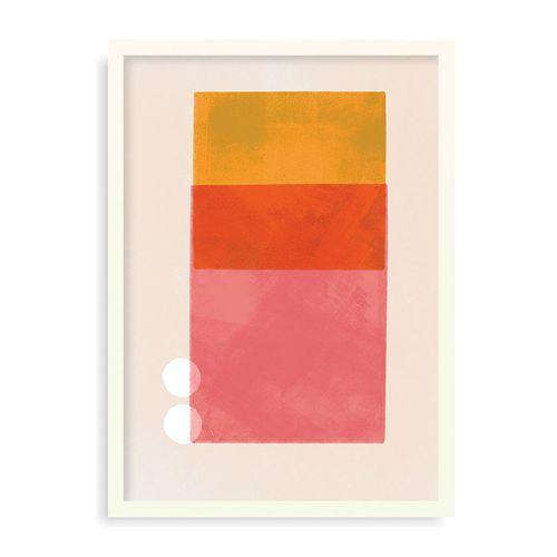 Quadro Coincidence #03 - 31,7 x 44 cm - Mel