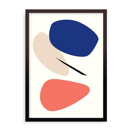 Quadro Las Termas - 31,7 x 44 cm - Preto
