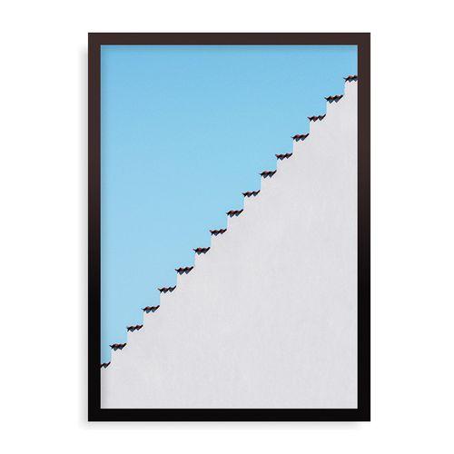 Quadro Mexican Roof - 44 x 61,4 cm - Preto