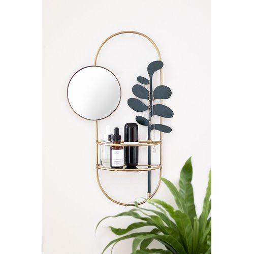Prateleira-com-espelho-folhagens