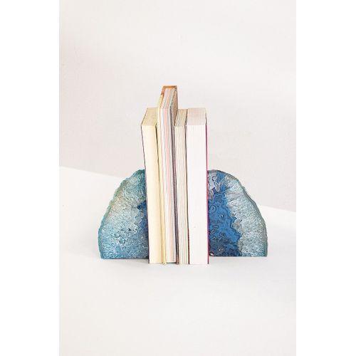 Porta-livros-agata-azul